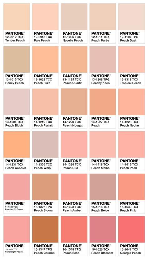 Peach Pantone by