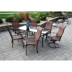 cambria 7 patio dining set walmart