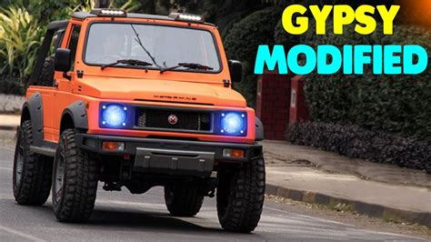 modified gypsy in kerala top 5 maruti suzuki gypsy modified best ever maruti