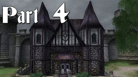 buying a house in oblivion oblivion walkthrough part 4 buy a house in cheydinhal commentary youtube