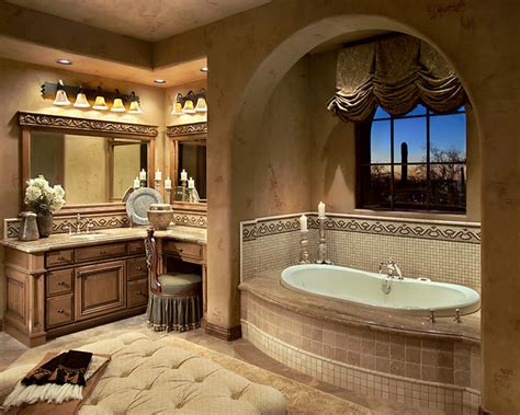 Mediterranean Style Bathrooms Silverleaf Mediterranean Mediterranean Bathroom By Spiller Design
