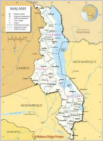 Malawi Africa Map by Gallery For Gt Lake Nyasa On Map