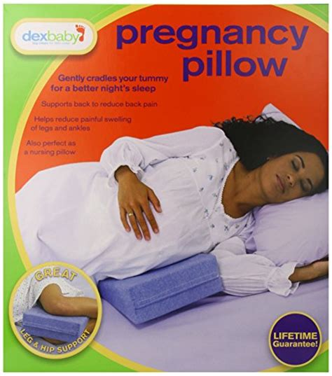 E Pregnancy Pillow by Dexbaby Pregnancy Pillow