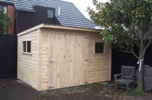 strong solid wooden sheds made to order