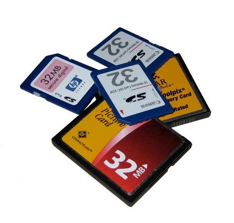 Flash Memory Card E Waste 32 Mb Flash Cards Stephen Foskett Pack Rat