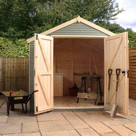 Insulation For Garden Shed by Mercia Ultimate Garden Shed 10 X 8ft With Plywood Insulation
