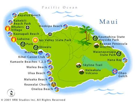map of hawaiian islands and california surf volcano activities and on