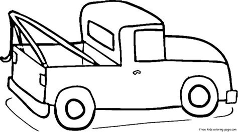 coloring book pages truck ford up truck coloring page for kidsfree printable