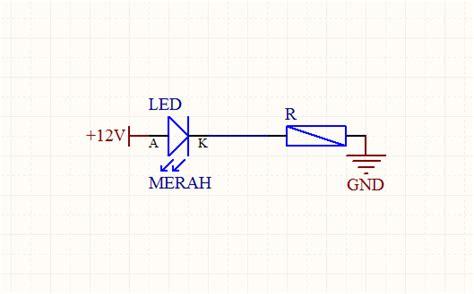 Lu Led Motor 1 Mata resistor untuk led kecil 28 images rangkaian led tanpa