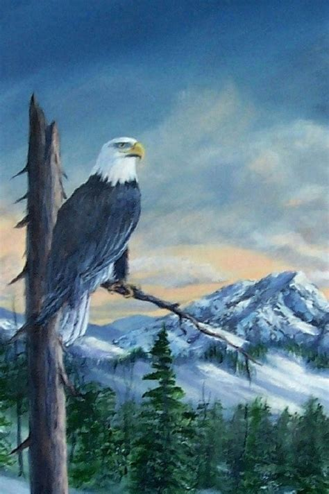 acrylic painting eagle 695 best images about rock animals on