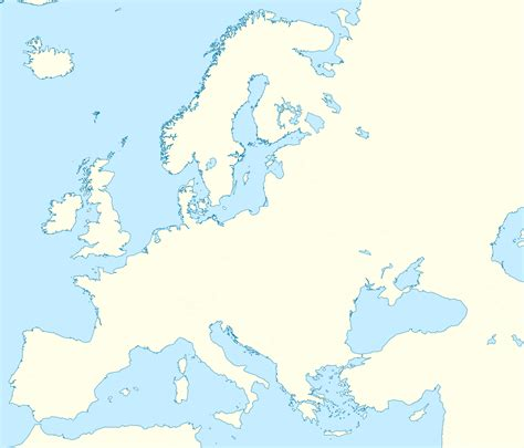 blank map of america and europe blank map of europe no boundaries
