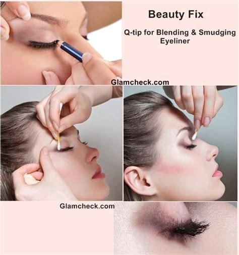 Blending Liner Makes Look by Fix Q Tip For Blending And Smudging Eyeliner