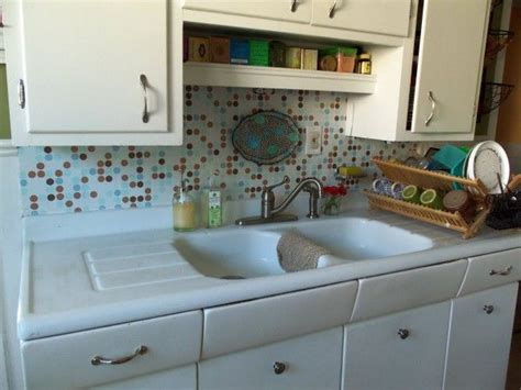 contact paper backsplash makeover ideas