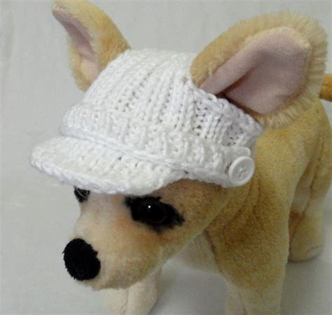 pattern clothes dog pet clothes spring summer outfit crochet hand knit visor