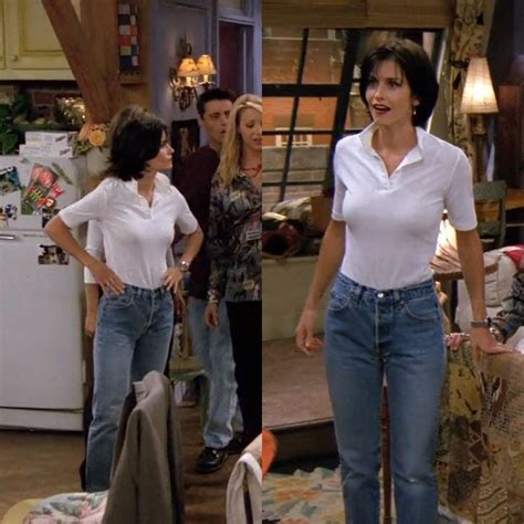 Friends Fashion And geller s style my style 90s fashion