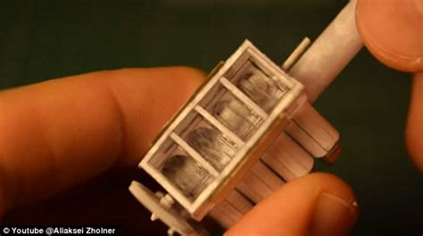 Origami Engine - tiny v8 motor made of paper revealed and it really works