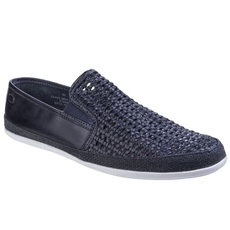 base stage weave mens slip on shoes from