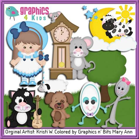 nursery rhyme clip 18 best images about nursery rhyme on hickory