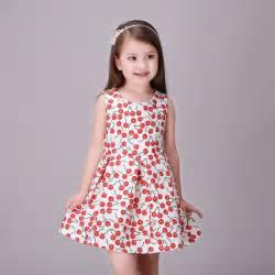 Dress princess costume cherry children clothing girls kids clothes