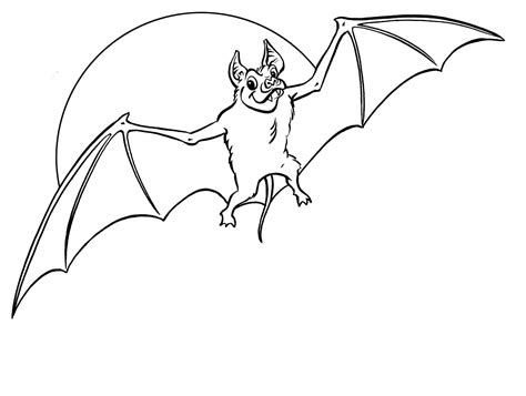 printable bat coloring pages coloring me