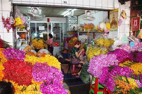 mercato dei fiori bangkok mercato dei fiori a bangkok