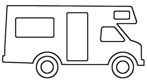 malvorlage wohnmobil camping wagen ausmalbild