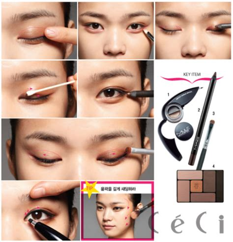 tutorial makeup like korean yun shock blog natural korean makeup eyes