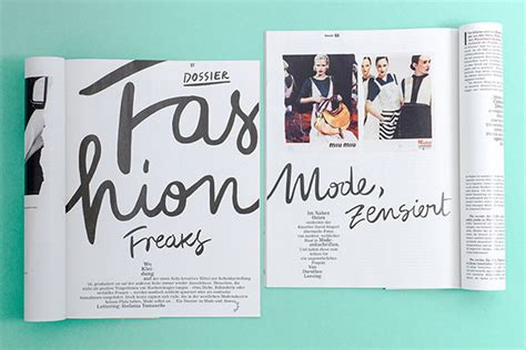 magazine layout design course 10 ideas for a fashion marketing portfolio searching for