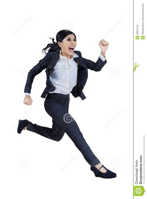 whos the black girl in the jogging suit in the liberty mutual commercial business woman running in suit stock photo image 33654742