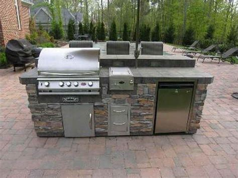patio kitchen islands best 25 prefab outdoor kitchen ideas on