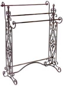 wrought iron towel holder wrought iron scroll towel rack