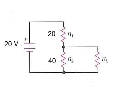 resistor divider thevenin equivalent simple exle of network analysis electrical engineering learn electrical engineering for