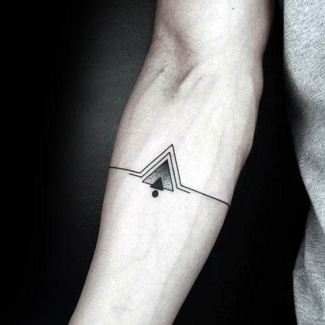 tattoo geometric music 50 simple forearm tattoos for guys manly ink design ideas