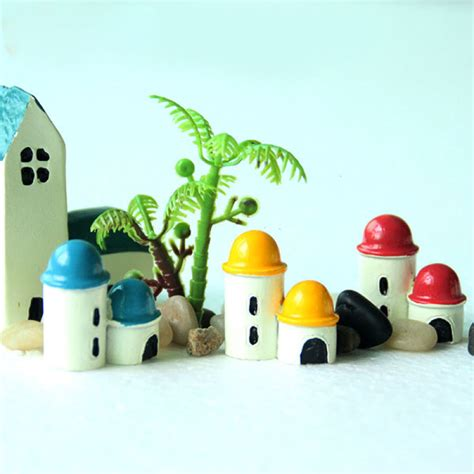 Mini Decorations - buy mini resin castle micro landscape decorations garden