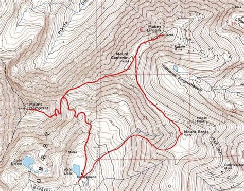 Hiking Route Card Template by The Decalibron Lemke Climbs