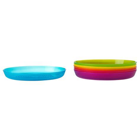 Ikea Kalas kalas plate assorted colours ikea