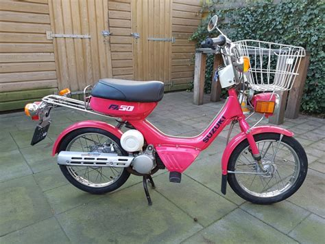 1983 Suzuki Fa50 Suzuki Fa50 1983 D Information