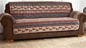 country western sofa furniture cover w mustang