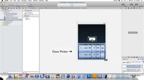 Xcode Picker Tutorial | xcode 4 iphone sdk tutorial date picker hd youtube