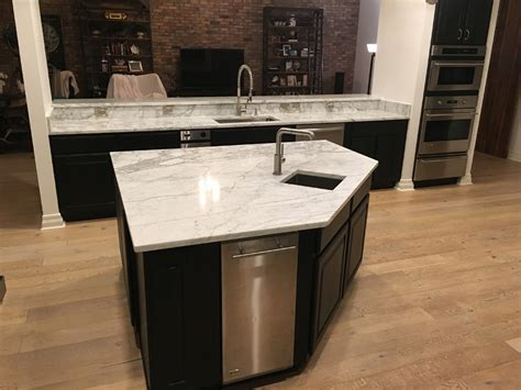 carrara marble kitchen island carrara marble countertops in kitchen