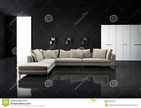 black sofa contemporary living room lda architects minimal contemporary elegant living room stock photos