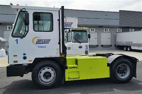 electric truck of 27 byd electric trucks deployed at california