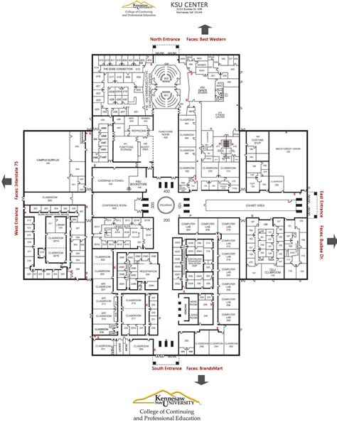 floor plan mapper directions college of continuing and professional education