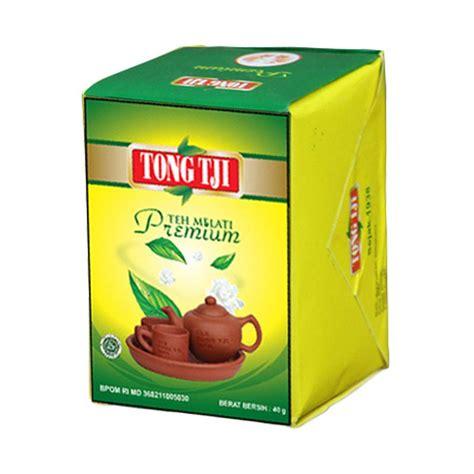 Teh Tong Tji Premium jual tong tji tea premium teh seduh 40 g 10 pcs