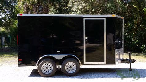 black trailer 6x12 ta trailer black doors side door snapper