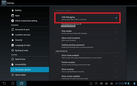 debugging android how to enable usb debugging on your android device androidjunkies