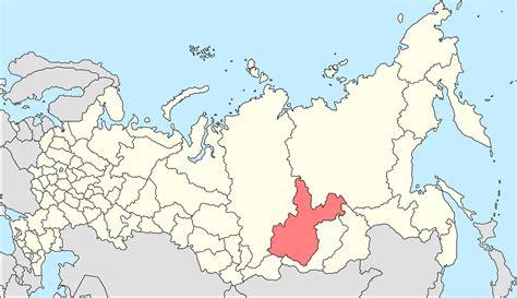 irkutsk map irkutsk russia map