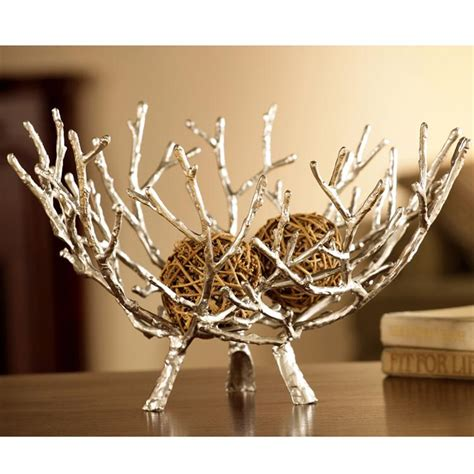 decorative pieces for home twig bowl by spi home 176 you save 64 00
