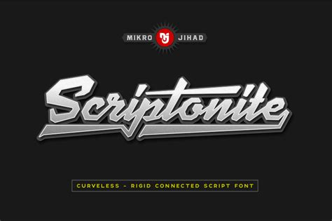 dafont bromello scriptonite font dafont com