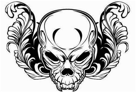 black and design black and white skull designs ideas collection